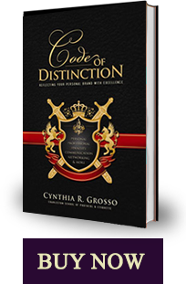 Code of Distinction by Cynthia Grosso