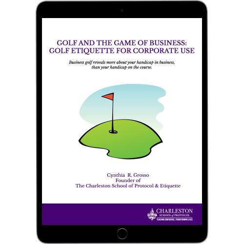Golf-etiquette